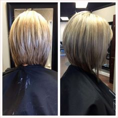 Long Inverted Bob Hairstyles Best Of Stacked Long Bob Haircuts New . Bob Haircut Back View, Bob Haircut For Fine Hair, Bob Back View, Haircut Bob, Haircut Short, Haircut Styles, Inverted Bob Hairstyles, Long Bob Haircuts, Layered Hairstyles