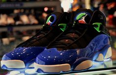 reputable site 71ebb 1a4be Jordan 6 Rings GS - Black - Game Royal - Light Lucid Green - SneakerNews.com