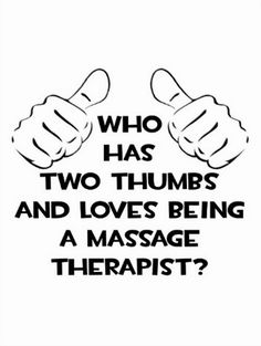 Who has 2 thumbs & loves being a massage therapist? The Springs Resort & Spa Call and book today! Massage Funny, Love Massage, Massage Quotes, Massage Tips, Massage Room, Massage Therapy Humor, Message Therapy, Massage Marketing, Remedial Massage