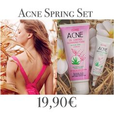 LIMITED spring offer- Acne Set! Natural way to the perfect skin! Skincare set for the SPECIAL price-19,90€ on TROPICOZA.COM! #musthave #makeup #new #natural #best #beauty #beautiful #beautyblogger #vegan #cute #like #love #hair #girl #girls #fashionblogger #fit #fitness #detox #skincare #style #perfect #organic #thailand #tropicoza #coconutoil