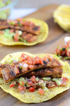 Vegan Grilled Tofu Tacos from the Girl Makes Food blog