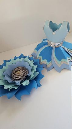Paper Flower Template PDF files 2