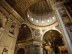 St. Peter's Basilica, Rome Italy.