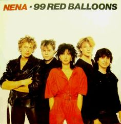Nena - 99 Red Balloons (Spanish LP)