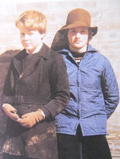 Diana & her brother Charles