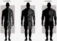 Do you know that theoretically body type can be divided into 3 big categories which are endomorph (get fat easily), mesomorph (big frame and athletic look) and ectomorph (skinny).