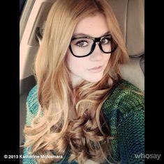 "Photo: Kat McNamara Is Happy For ""Sweater Weather"" November 18, 2013"
