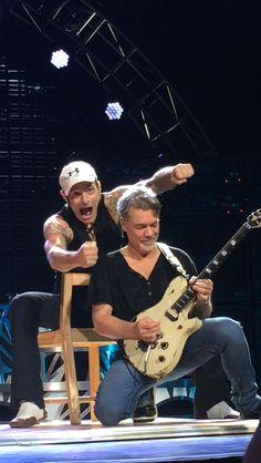 Van Halen Tampa 2015  David Lee Roth and Eddie Van Halen