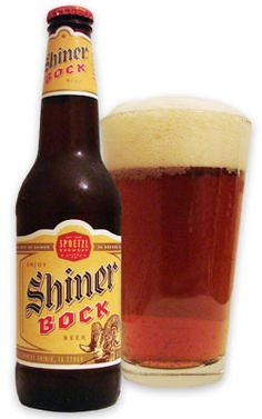 Shiner Brewery has great quality products and I think, some of America's best beers. Shiner Bock is my favorite.