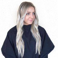 Perfectly blonde by @hairwithsav 💥