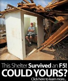 Storm Shelter Survives Tornado in Alabama