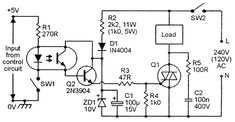 Nuts & Volts Magazine - For The Electronics Hobbyist Dc Circuit, Circuit Diagram, Hobby Electronics, Electronics Projects, Power Supply Circuit, Lcd Television, Electronic Schematics, Smart Home Automation, Electronic Engineering