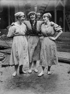 Three Scottish rope workers Their bare feet and sack-like clothes combined with their joyous faces and apparent camaraderie made me remember them years after I first saw this photo in a Scottish gallery. The photo made me think about the world they lived in as well as how people can strive be find pleasure regardless of circumstance.