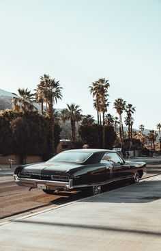 vintage cars All black Pontiac - Our trip to Los Angeles for our Summer 18 collection, Dark Daze. Wallpaper Sky, Summer Wallpaper, Poster Cars, Old Classic Cars, Summer Lookbook, Retro Cars, Car Wallpapers, Aesthetic Vintage, Luxury Cars