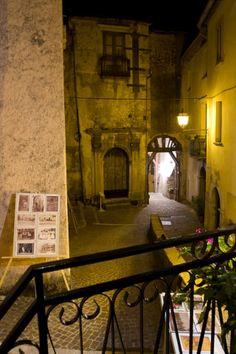 Rivello (PZ) Italy Street silently