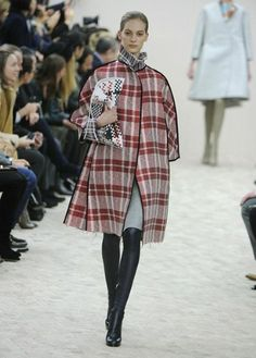 More laundry bag chic. I LOVE this coat.  Celine A/W 2013