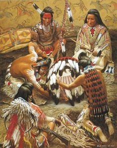 Native American Face Paint, Native American Paintings, Native American Pictures, Native American Beauty, Indian Pictures, Native American Artists, American Indian Art, Native American History, Indian Paintings