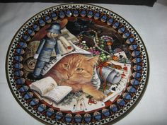 Lesley Anne Ivory's Danbury Mint Cats 2000 Decorative Plate 8 Inches | eBay