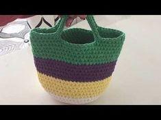 Penye ip çanta - 3.kısım - YouTube