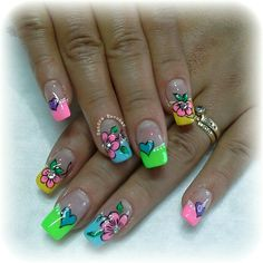Lindura Creative Nail Designs, Beautiful Nail Designs, Creative Nails, Pretty Nail Art, Cool Nail Art, Fabulous Nails, Gorgeous Nails, Special Nails, Nails 2017
