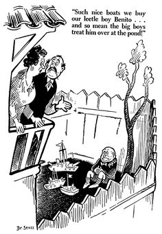 7/27/41 Dr Suess, Political Cartoons, World War Two, Ww2, Typography, Politics, History, American, Drawings