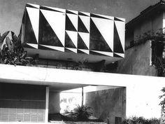 João Batista Vilanova Artigas - casa Rubens de Mendonça (triângulos), são paulo (1958)