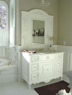 Shabby chic bathroom