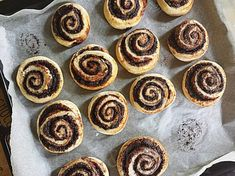 Kakaós csiga (gyors, omlós) | Csukonyiné Timi receptje - Cookpad receptek French Toast, Cheesecake, Berries, Muffin, Breakfast, Desserts, Food, Breads, Drink