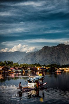 "Idyllic Life by Jared Lim, ""A beautiful day in Dal Lake Srinagar."" #travel"