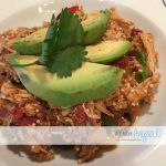 Slow Cooked Southwest Chicken Burrito Bowls