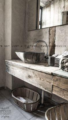 Rustic bathroom 3