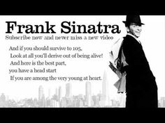 Young at heart- frank sinatra