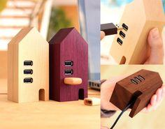 USB Hub House by Hacoa – $115