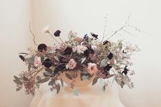 Constance spry inspired @thebotanicalheart Flower Arrangement, Floral Arrangements, Constance Spry, Urn, Color Combos, Wedding Bouquets, Vases, Centerpieces, Bridal