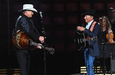 George Strait and Alan Jackson Share the Stage at CMA Awards