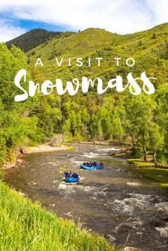 Tips for a visit to Snowmass, Colorado - one of the most beautiful areas of the Rocky Mountains, Colorado and a perfect destination for families. Beautiful all year round with plenty to do! Vacation Destinations, Dream Vacations, Holiday Destinations, Vacation Rentals, Vacation Spots, Cool Places To Visit, Places To Travel, Travel Stuff, Time Travel