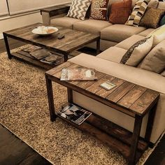 84 Wonderful Coffee Table Design Ideas www.futuristarchi The post 84 Wonderful Coffee Table Design Ideas www.futuristarchi appeared first on Decoration. Coffee Table Design, Diy Coffee Table, Design Table, Coffee And End Tables, Rustic Wood Coffee Table, Coffee Table Storage, Rustic Couch, Coffee Table Height, Wooden Couch