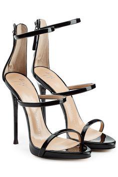 Patent Leather Stiletto Sandals | Giuseppe Zanotti
