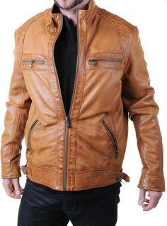 ee901b348e0c Veste en cuir Redskins Homme Balboa Rivoli marron cognac de face Prix  322  euros - Tailles disponibles M, L et XL – à Blackstore Brest Kergaradec.