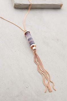 Spectrum Fringe Necklace - anthropologie.com