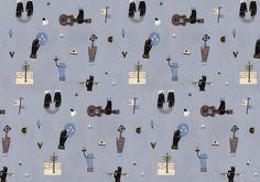Patterns by Xusha Shishkova, via Behance
