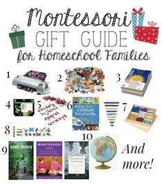 Montessori Christmas Gift Guide for Homeschool Families