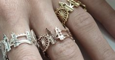 Cityscape rings let you wear the world s greatest skylines 4811fdaf35f9