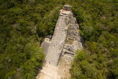 From an abandoned temple to an decrepit castle consumed by nature, these drone shots give a whole new perspective to abandoned structures.