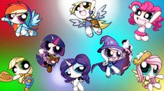 Power Puff Ponies by Trixie Lulamoon by Hikarisah.deviantart.com