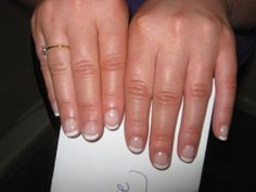 french manicure bridal nails http://www.beautywithruth.com/images/bridal_nails.jpg