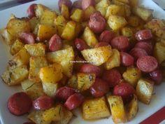 sosisli kahvaltılık patates