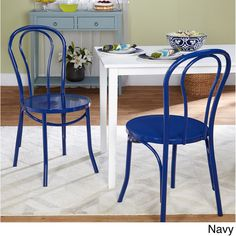 Simple Living Vintage Inspired Cafe Chairs (Set of 2) - Overstock™ Shopping - Great Deals on Simple Living Dining Chairs