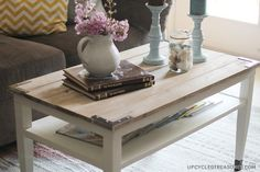 Planked Coffee Table