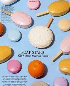 #SoapStars shot by @vanessamckeown for @eveningstandardmagazine #BeautyEditor…